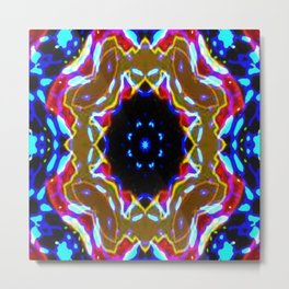 The Shape of Color Metal Print