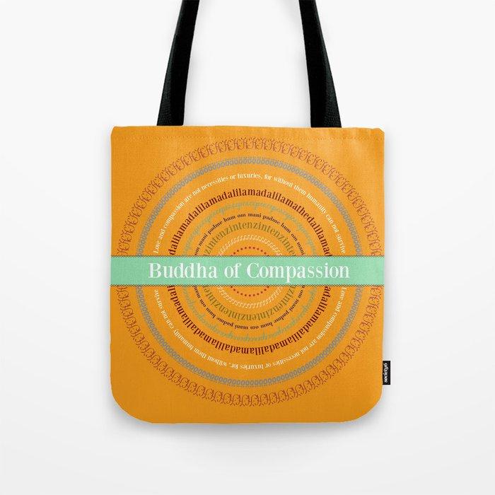 Buddha of Compassion Tote Bag