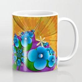 Blushing Blue Coffee Mug