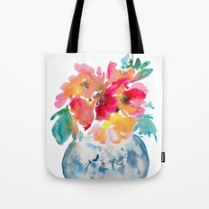 Flora bouquet Tote Bag