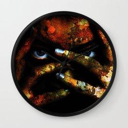 Apocalyptic Skin Wall Clock