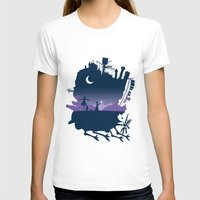 calcifer T-shirts featuring Sophie and Calcifer by maped
