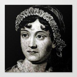 Jane Austen Canvas Print