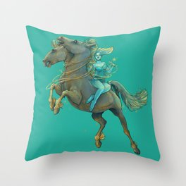 Gemini Maiden Throw Pillow