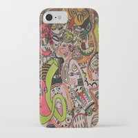 miles davis iPhone & iPod Cases featuring miles davies by Dan Feit