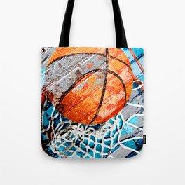 Modern basketball art 3 Tote Bag