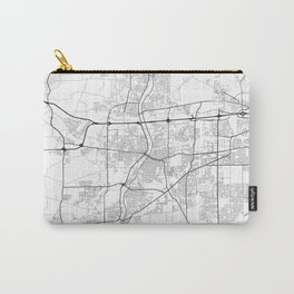 Minimal City Maps - Map of Aurora, Illinois, United States Carry-All Pouch