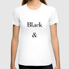 Black & White / Minimal T-shirt