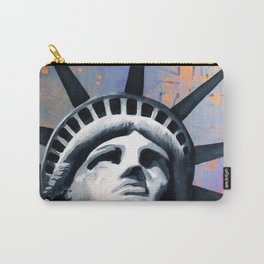 Welcome to New York Statue of Liberty Carry-All Pouch
