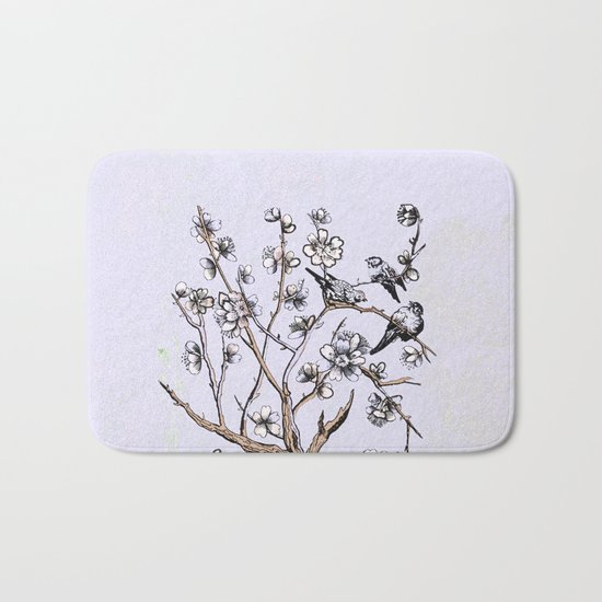 summertime and the living is easy Bath Mat