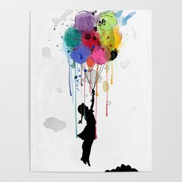 wild drips Poster