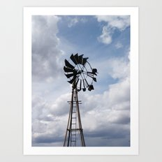 Left to the Elements...Abandoned Windmill Art Print