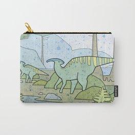 Duck-billed Dinosaur, Parasaurolophus Carry-All Pouch