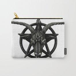Baphomet Satanic Church Goat Head Carry-All Pouch