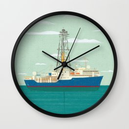 Joides Resolution Wall Clock