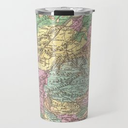 Vintage Map of Scotland (1827)  Travel Mug
