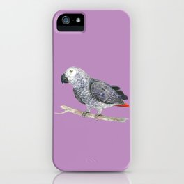 Gray Bro iPhone Case