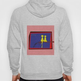 Love and Cats . Artlove Hoody