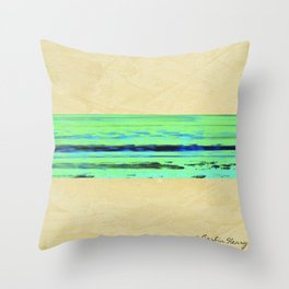 Modern Movement 001 - Signed - Abstract Landscape Canvas Art - Comforters - Bedding - Metal Prints Throw Pillow
