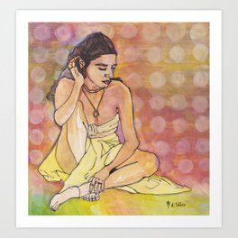 Haati Chai Art Print