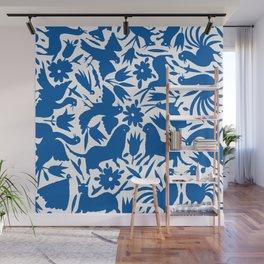 otomi blue Wall Mural