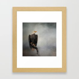 High Perch - Bald Eagle - Wildlife Framed Art Print