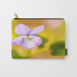 Wildflower Pansy Summer Blossom #decor #society6 #buyart Carry-All Pouch