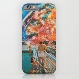 Moon Burn iPhone Case
