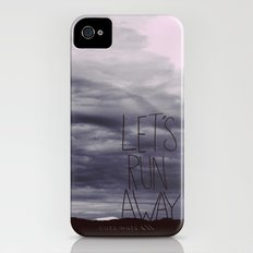 Let's Run Away VI Slim Case iPhone (4, 4s)
