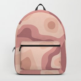Abstract realistic paper decoration Backpack