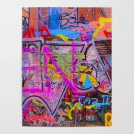 Bright Graffiti Poster
