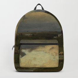 George Inness - Hazy Morning Backpack