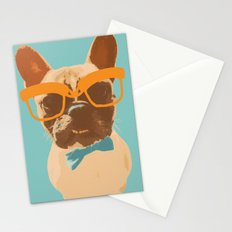 Dapper Frenchman Stationery Cards