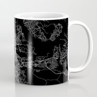 stockholm Mugs featuring Stockholm  by Line Line Lines