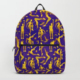 Fitness yellow glow Backpack