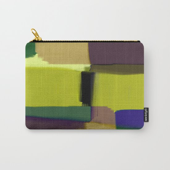 Simply Abstract X - Abstract, oil painting, pastel colours Carry-All Pouch