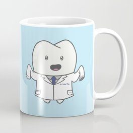 White Coat Molar Moe Coffee Mug