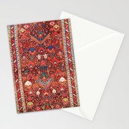 Sauj Bulag Azerbaijan Northwest Persian Rug Print Stationery Cards