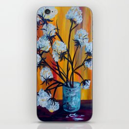 Bouquet of Cotton iPhone Skin