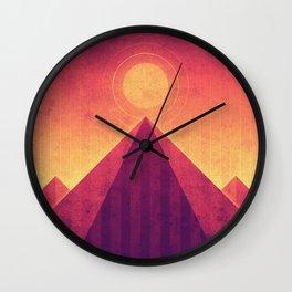 Venus - Maxwell Montes Wall Clock