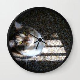 You Were Saying? Wall Clock