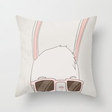빠숑토끼 fashiong tokki Throw Pillow