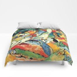 "Vasily Kandinsky Sketch for ""Composition II"" Comforters"