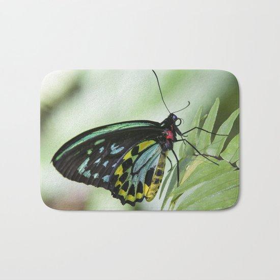 Birdwing Butterfly Bath Mat