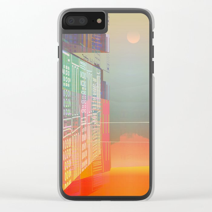 Open Gates / Spatial sluices / Entrance to summer Clear iPhone Case