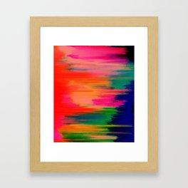 Advanced Color Framed Art Print