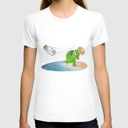 The Adventures of Mr. Turtle T-shirt