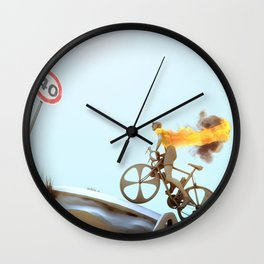 Yellow Jersey Wall Clock