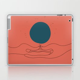 Dhyana mudra Laptop & iPad Skin