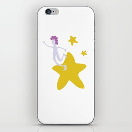 Reach for the Stars - Yellow iPhone Skin